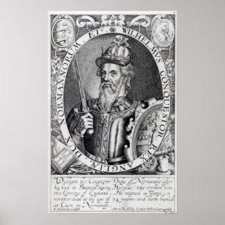 William the Conqueror, 1618 Poster
