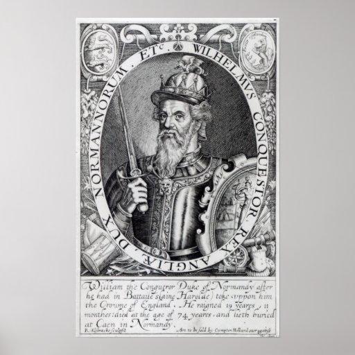 William the Conqueror, 1618 Print
