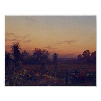 William Trost Richards (1833-1905)landscape 7 Poster