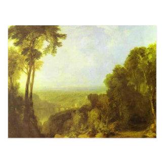 william turner - crossing the brook postcard
