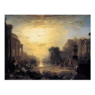 William Turner- Decline of the Carthaginian Empire Postcard