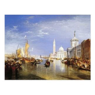 William Turner- Dogana and San Giorgio Maggiore Postcard