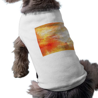 William Turner Sun Setting Over A Lake Painting Pet Clothes