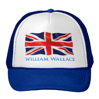 William Wallace - Blue Trucker Hat