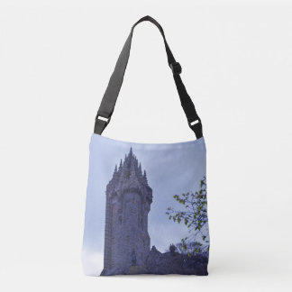 William Wallace Monument in Scotland Crossbody Bag