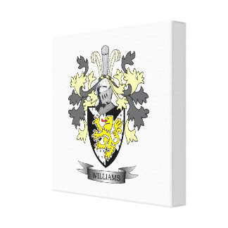Williams Coat of Arms Canvas Print