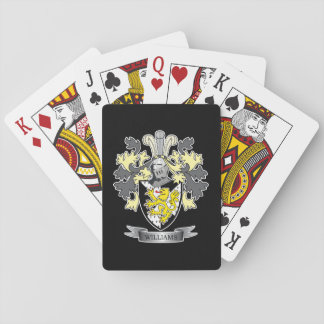 Williams Coat of Arms Playing Cards