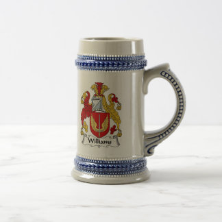 Williams Coat of Arms Stein - Family Crest