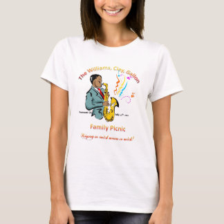 Williams Family Picnic - Ladies Baby Doll (Fitted) T-Shirt