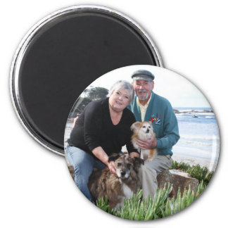 Williams Foxy and Corky Photo 3 2 Inch Round Magnet