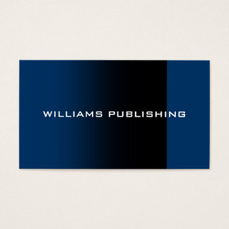 """""""Williams Publishing"""" Business Card"""