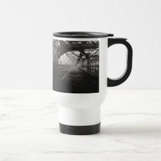 Williamsburg Bridge Architecture - New York City Travel Mug