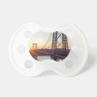 Williamsburg Bridge Sunset Brooklyn NYC Baby Pacifiers