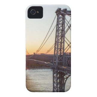 Williamsburg Bridge Sunset Brooklyn NYC iPhone 4 Case