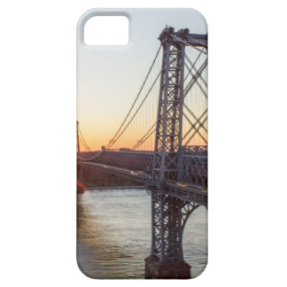 Williamsburg Bridge Sunset Brooklyn NYC iPhone 5 Cases
