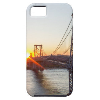 Williamsburg Bridge Sunset Brooklyn NYC iPhone 5 Cover