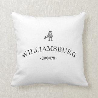 Williamsburg Brooklyn Pillow
