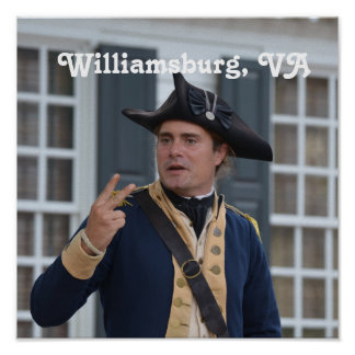 Williamsburg Soldier Poster