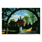 Williamsburg Virginia Governors Palace Poster