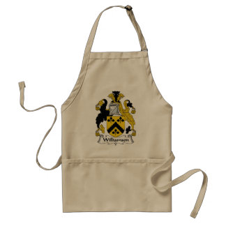 Williamson Family Crest Standard Apron