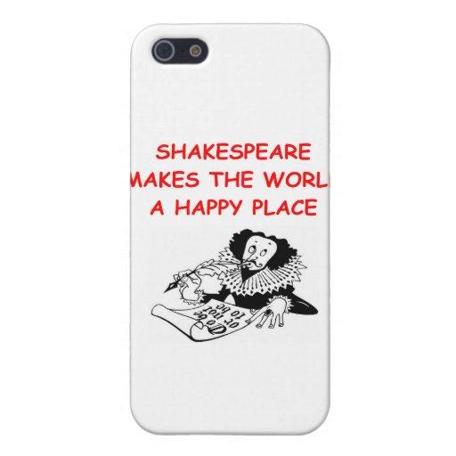 willian shakespeare iPhone 5 cases