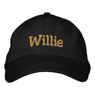 Willie Personalized Baseball Cap / Hat