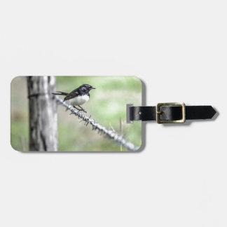 WILLIE WAGTAIL QUEENSLAND AUSTRALIA LUGGAGE TAG