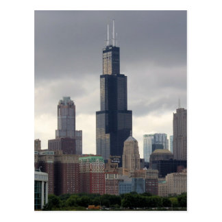 Willis Tower - Chicago, Illinois Postcard
