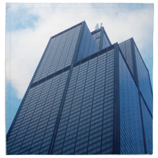 willis tower napkin