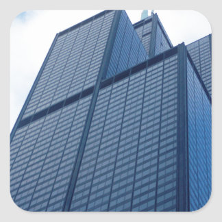 willis tower square sticker