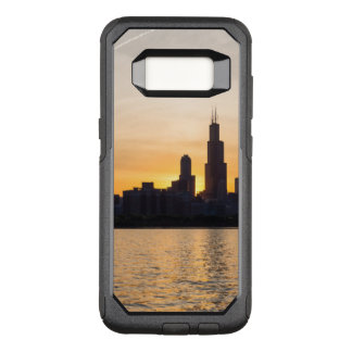 Willis Tower Sunset Sihouette OtterBox Commuter Samsung Galaxy S8 Case