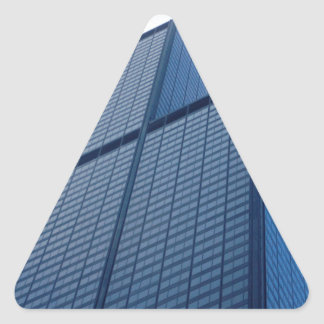 willis tower triangle sticker