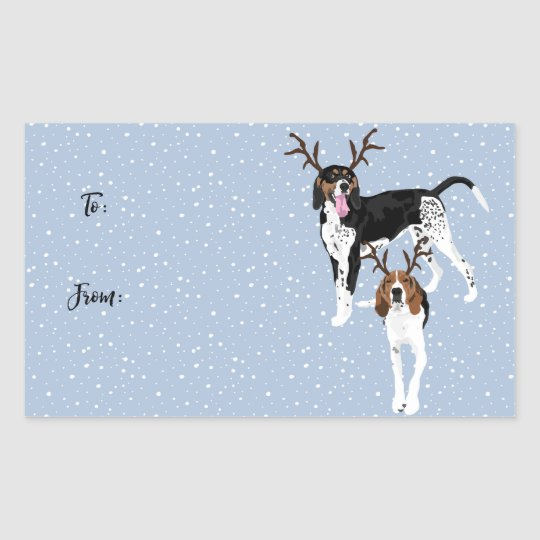 Willow and Walker Gift tags stickers