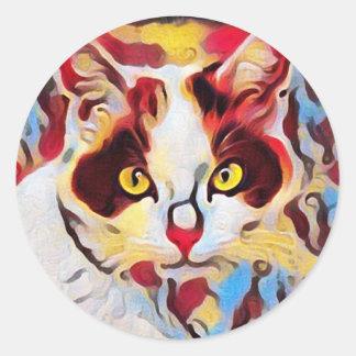 Willow Art23 Classic Round Sticker