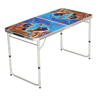 Willow Art27 Beer Pong Table