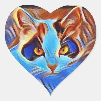 Willow Art27 Heart Sticker