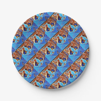Willow Art27 Paper Plate