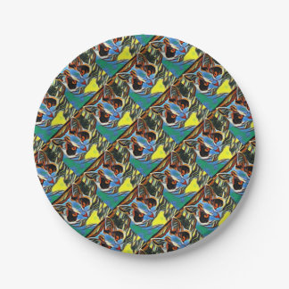 Willow Art8 Paper Plate