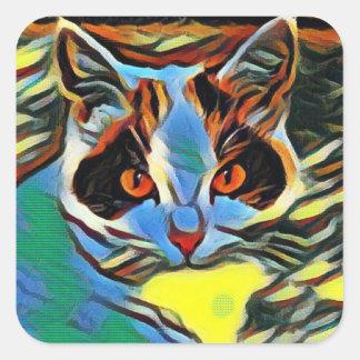 Willow Art8 Square Sticker