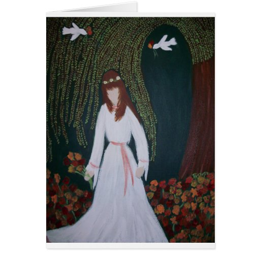 Willow Bride Card