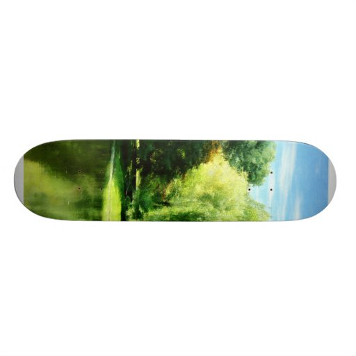 Willow By the Lake Custom Skate Board