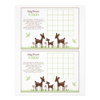 "Willow Deer Family ""Baby Shower Bingo"" sheet"