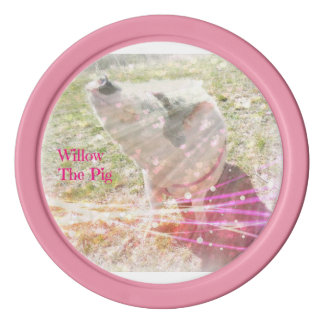 Willow Pink Poker Chips