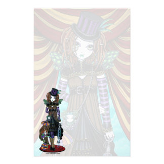 """""""Willow"""" Steampunk Circus Fairy Stationery"""