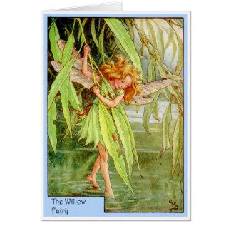 Willow Tree Fairy Card