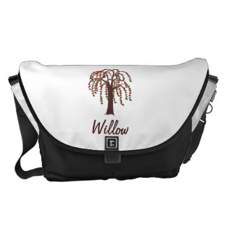 Willow Tree with Hearts - Customizable Commuter Bag