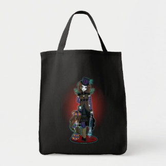 """Willow"" Victorian Steampunk Circus Faery Tote Bag"