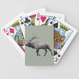 Willow Wapiti elk Bicycle Playing Cards