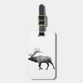 Willow Wapiti elk Luggage Tag