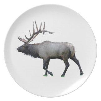 Willow Wapiti elk Plate